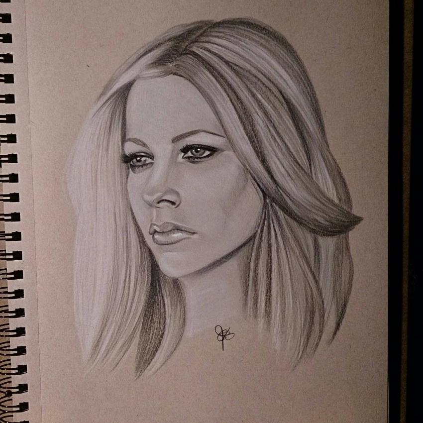 Avril Lavigne par chalittlefairy